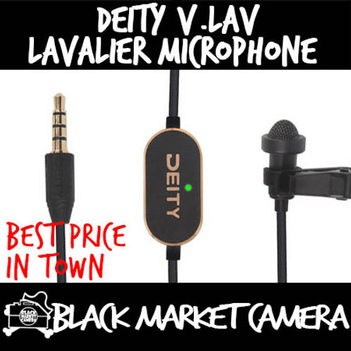 Deity Microphones V.Lav Omnidirectional Lavalier Microphone with Microprocessor
