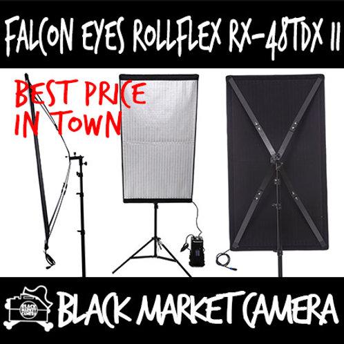 Falcon Eyes RX-48TDX II Bi-Colour Roll-Flex LED Flexible Video Lighting