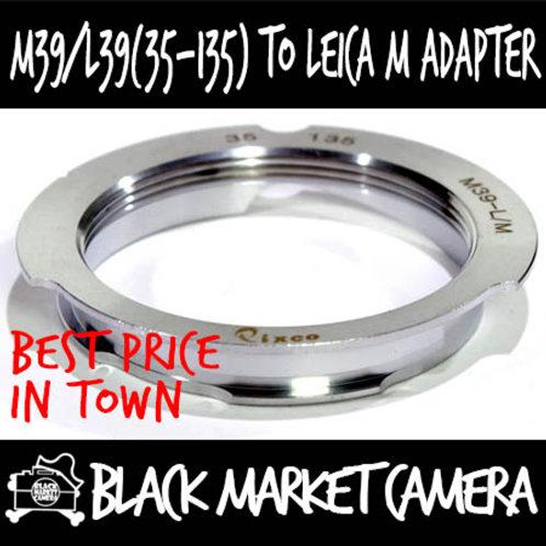 LTM/L39/M39 (35-135) Lens to Leica M Body Adapter