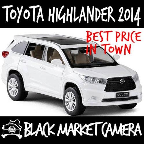 JackieKim 1:32 Toyota Highlander 2014 Diecast Car Model