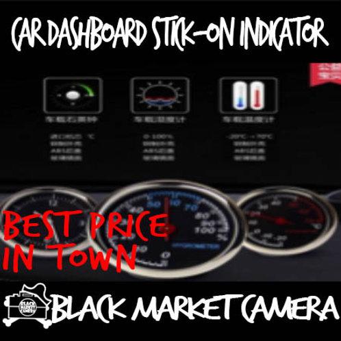 Car Dashboard Stick-On Indicator