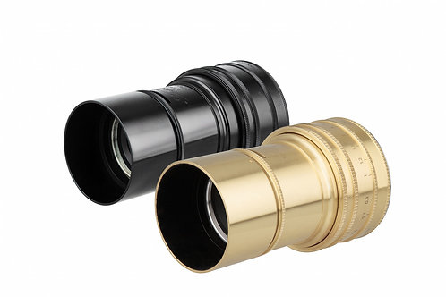 Daguerreotype Achromat 2.9/64 Art Lens - Canon EF Mount (Brass)