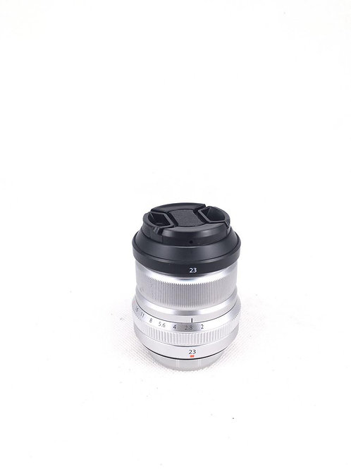 *SOLD* Fujifilm XF 23mm Super EBC F2R WR Silver