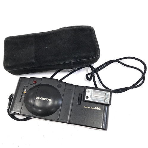 Olympus XA-2 Film Rangefinder + A16 Flash (Used)