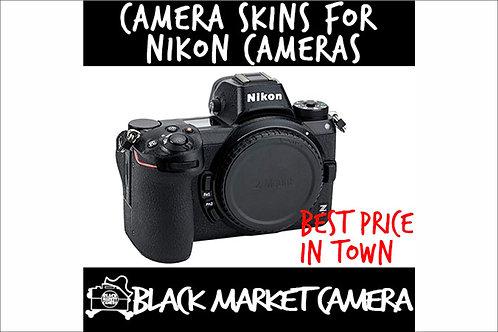 Camera Skins for Nikon Z6/Z7 Mirrorless Digital Cameras