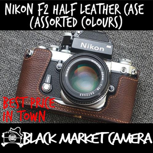 Funper Nikon F2 Half Leather Case