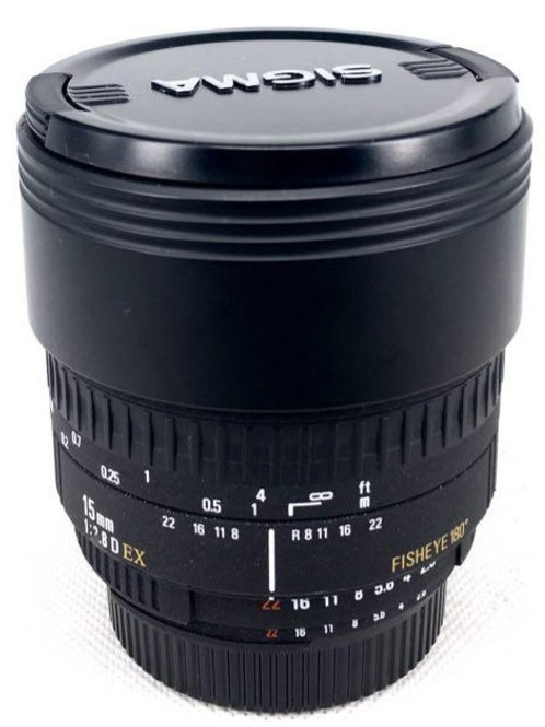 Sigma 15mm f2.8 Fisheye Nikon Mt