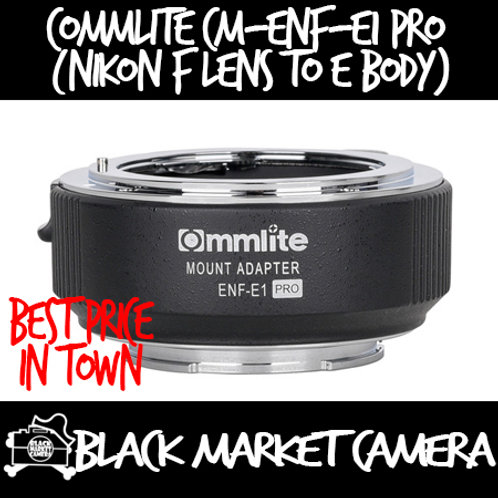 Commlite CM-ENF-E1 PRO (Nikon F Lens to E Body)