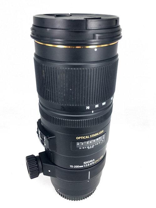 Sigma 70-200mm F2.8 APO EX DG OS Canon Mount