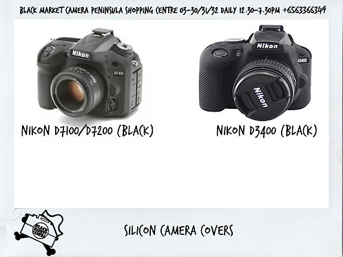 Silicone protective camera covers for Nikon