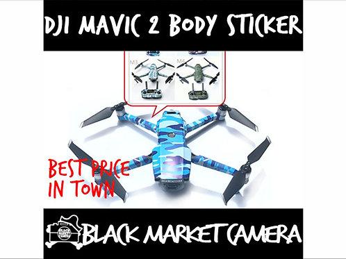 Camouflage Sticker Decal Full Body Cover Sticker for DJI Mavic 2