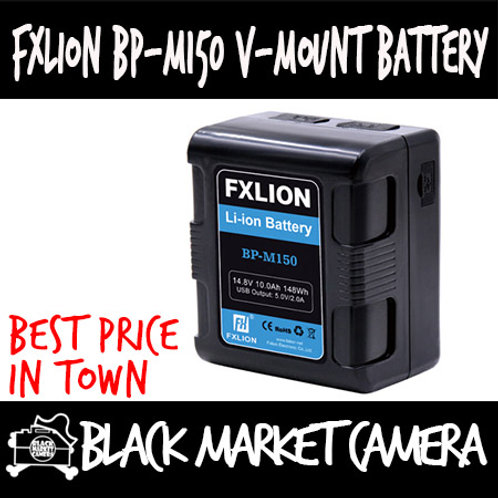 FXLION BP-M150 V-Mount Battery