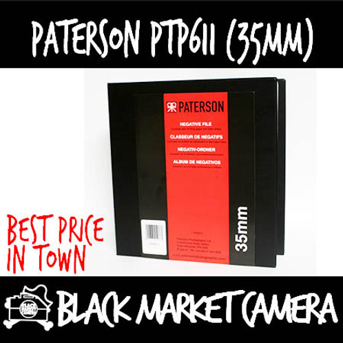 Paterson PTP611 35mm Negative Filing System
