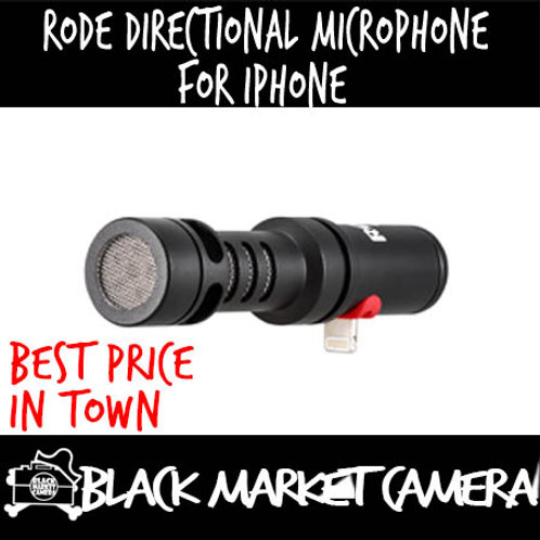 RODE VMML Directional Microphone For iPhone