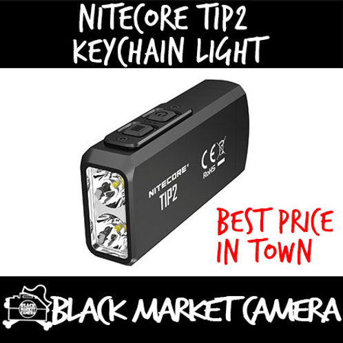 Nitecore TIP2 720 Lumens Dual-Core Magnetic Keychain Light
