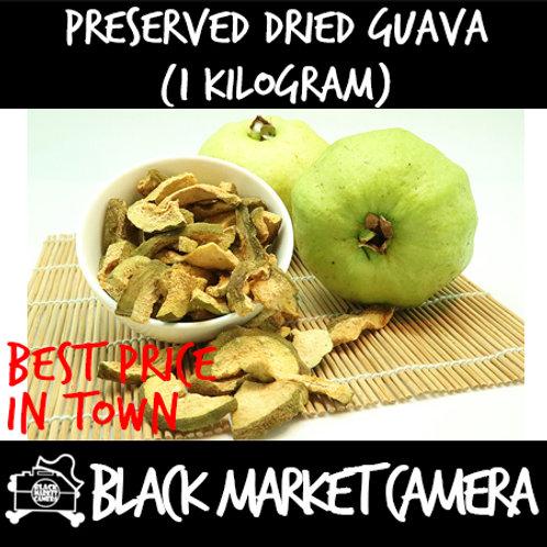 Preserved Dried Guava (Bulk Quantity, 1kg Bag)