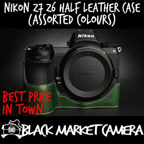 TP Original Nikon Z7/Z6 Half Leather Case