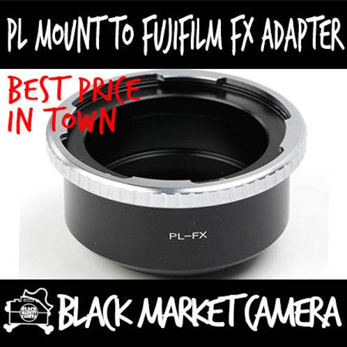 Arri PL Cine Lens to Fuji FX Mount Body Adapter