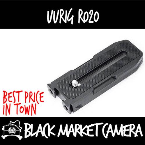 Ulanzi UURig R020 Universal Cold Shoe Mount Acra Swiss Quick Release Plate