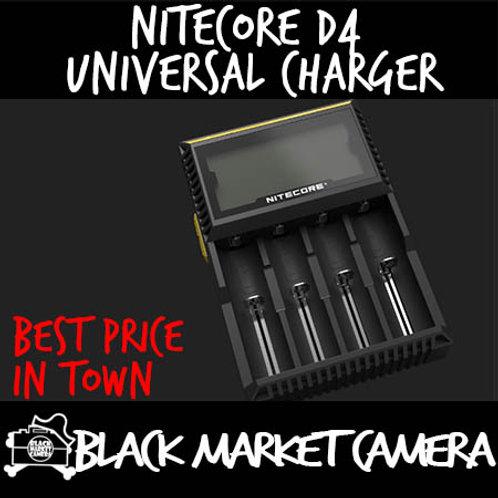 Nitecore D4 Intelligent Ultra-Compatible Digicharger