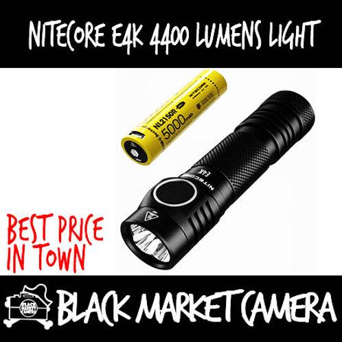Nitecore E4K 4400 Lumens Light