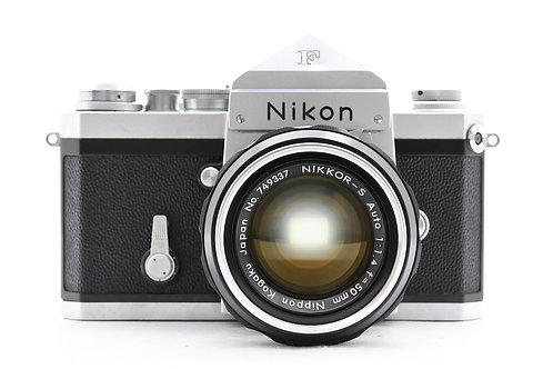 Nikon F Classic Film SLR (Silver) (used)