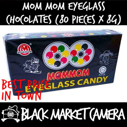 Mom Mom Eyeglass Chocolate (Bulk Quantity, 80 Pieces x 8g)