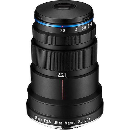 Venus Optics Laowa 25mm F2.8 2.5-5X Ultra Macro Lens for Canon RF