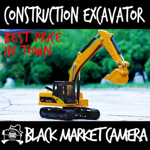 JB 1:50 Construction Excavator Diecast Model