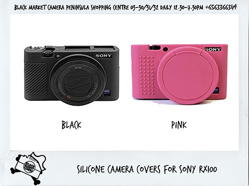 Silicone camera covers for Sony RX100/RX100M