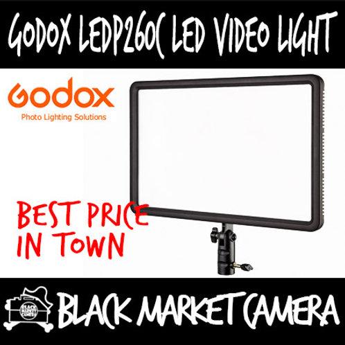 Godox LEDP260C Bi-Colour LED Video Light Panel (AC/Battery Operated)