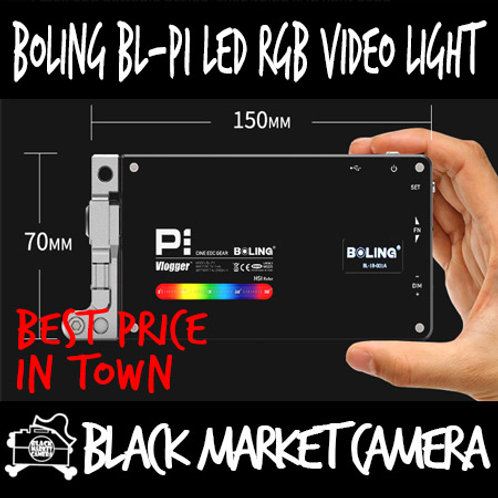 BOLING BL-P1 Pocket LED RGB Video Light with Internal Battery