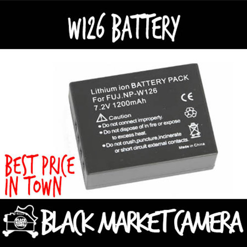 OEM FNP-W126 battery for Fujifilm