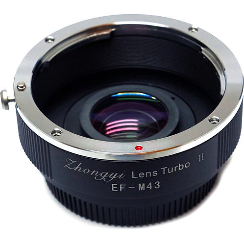 Mitakon Zhongyi Canon EF Lens to Micro Four Thirds Camera Lens Turbo Adapter II