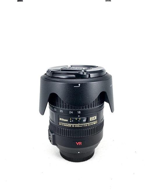 Nikon AFS 18-200mm f3.5-5.6 DX SWM VR ED IF ASPH