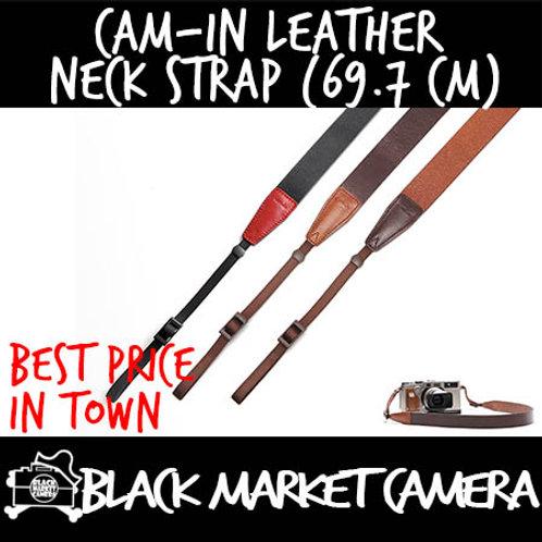 Cam-in Leather Neck Strap (69.7 cm)