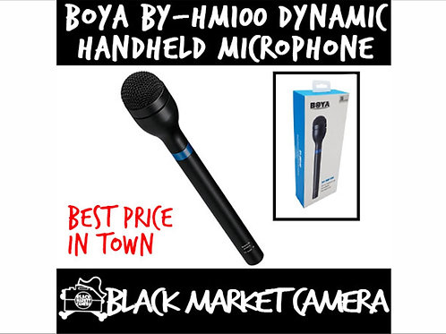 BY-HM100 Omni-Directional Dynamic Handheld Microphone