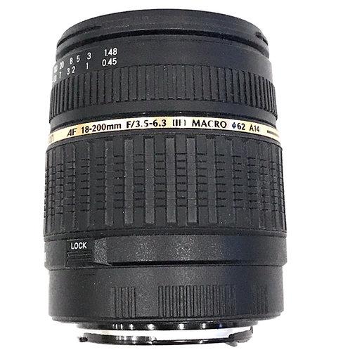 Tamron 18-200mm F3.5-6.3 Di II Canon Mount (used)