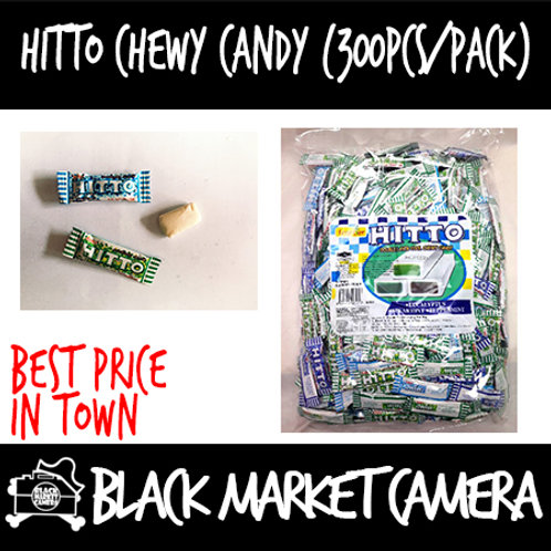 Hitto Chewy Candy (Bulk Quantity, 2 boxes for $30)