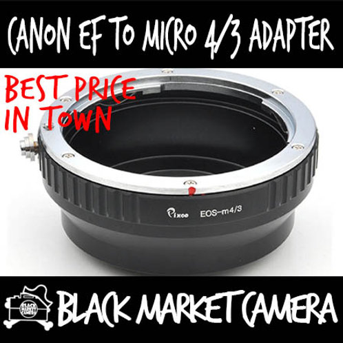 Canon EF Lens to Micro 4/3 Body Adapter
