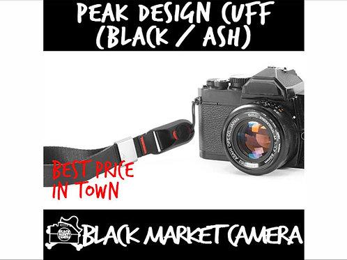 PEAK DESIGN Cuff - Wrist Strap (Black/Ash) CF-BL-3/CF-AS-3