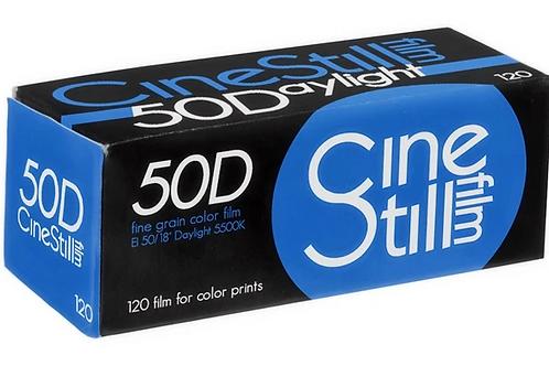 Cinestill 50D Daylight Colour Negative Film (120) (1 roll)