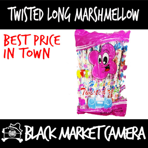 Twisted Long Marshmallow(2 bags)[SWEETS] [CANDY]