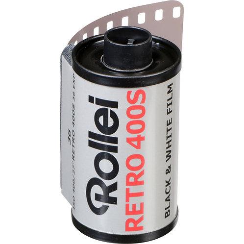 Rollei Retro 400S 36 Exp Black & White Film (135mm)