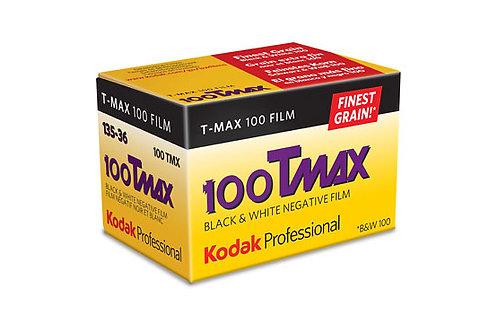 Kodak T-Max 100 36 Exp Black & White Film (135mm)