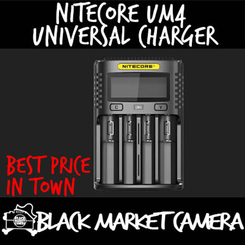 Nitecore UM4 Intelligent USB Four-Slot Universal Charger