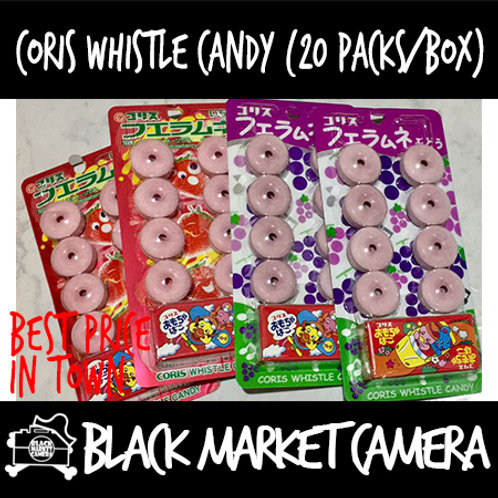 Coris Whistle Candy (Bulk Quantity, 20 packs/Box) | Available in Strawberr