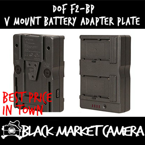 DOF F2-BP V Mount Battery Adapter Plate for Sony NP-F970 F750 Battery Plate