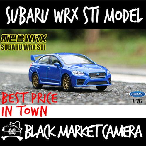 Welly 1:36 Subaru WRX STI Car Model