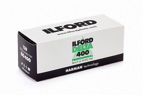 Ilford Delta 400 Black & White Film (120)